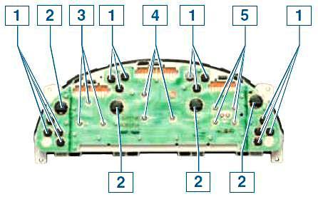 Снятие и разборка комбинации приборов Шевроле Ланос