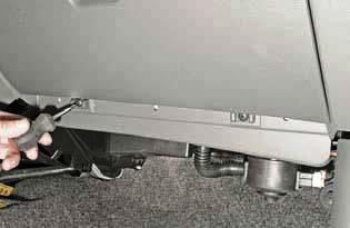 Снятие панели приборов Шевроле Ланос