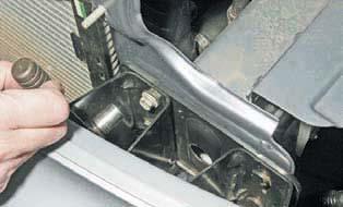 Снятие переднего бампера ланос фото