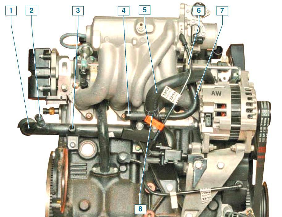 Система отопления ланос 1.5 схема фото 995